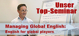 Unser Top-Seminar: Managing Global English